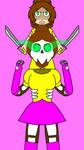 Laura is a samurai  by SfCabanas15