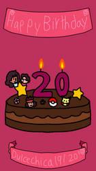 Happy Birthday Dulcechica19! by SfCabanas15