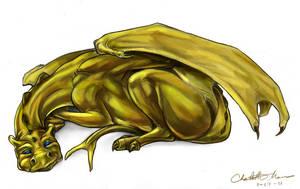Laconic Draconic -- Color by Cavatica