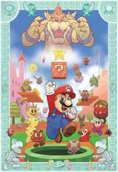 Super Mario Bros. Tribute by McQuade