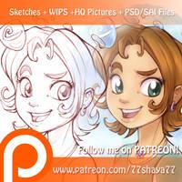 Follow me on Patreon! by 77Shaya77