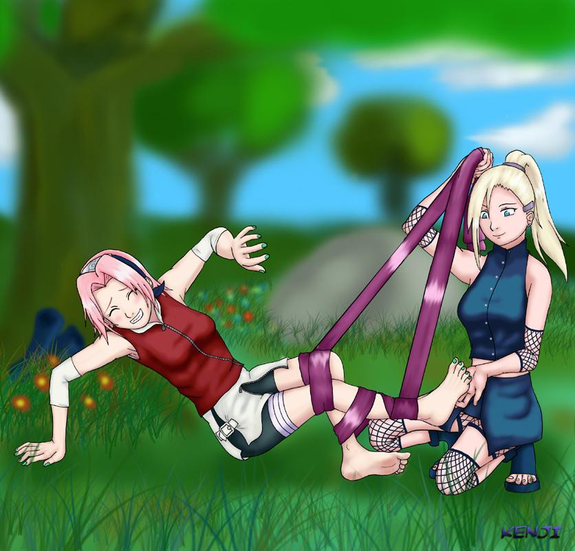 Yamanaka Ino By Rice Su On Deviantart: Naruto-A Battle Between Rivals By KenjiDeGozaimasu On