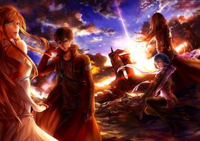 Swords Art Online  [+Speedpaint] by yuuike