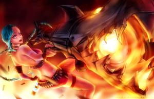 Jinx! You're dead [+Speedpaint] by yuuike