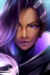 Overwatch - Sombra by yuuike