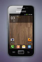 Samsung Galaxy Ace by ybres