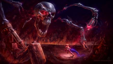 Skeletron Prime by Bohrokki