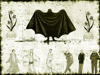 Edward Gorey Stokers Dracula by InsectGod
