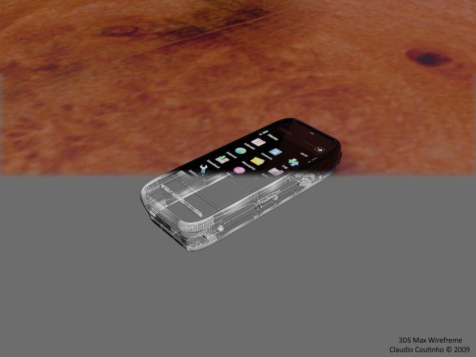 nokia 5800 wireframe by Dredmix