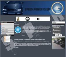 Speed Power Klub Website by Dredmix