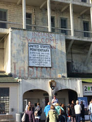 Two moment in Alcatraz Island history by Cameron112367