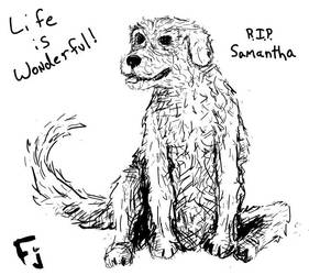 Samantha - R.I.P. friend by FunkyJupiter