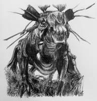 Thanator by SketchingWorlds