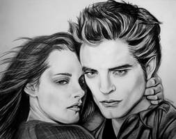 Bella and Edward by EmilyHitchcock