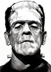 Frankenstein's Monster by EmilyHitchcock