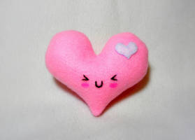 Heart Plush by EmilyHitchcock
