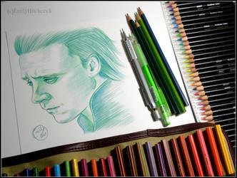 Sad Loki by EmilyHitchcock