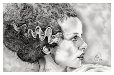 The Bride of Frankenstein by EmilyHitchcock