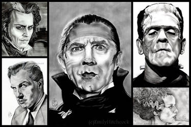 Horror collage. by EmilyHitchcock