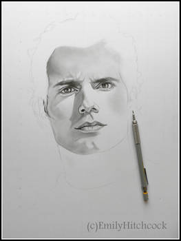 Henry Cavill WIP1 by EmilyHitchcock