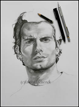 Henry Cavill WIP2 by EmilyHitchcock