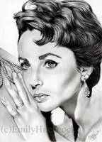 Elizabeth Taylor by EmilyHitchcock