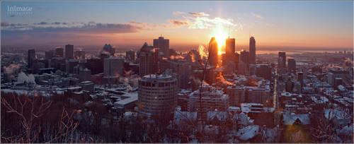 Sunrise in Montreal by YuppiDu