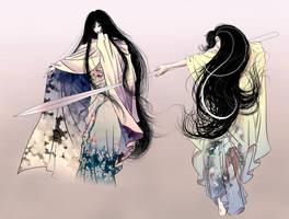 Izanagi-Izanami_unfinished by Ioruko