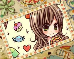 i love candy by mushomusho