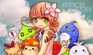 maple fanart by mushomusho