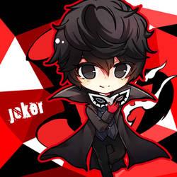 Persona 5 Joker by mushomusho