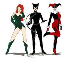 Gotham City Sirens by Neko-Poisoned