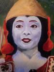 Tomoe Gozen - face by Kiarorin