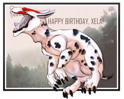 Happy birth Xela by Chimiere
