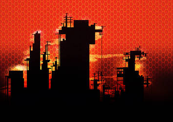 Futuristic City by LordBlubbFish