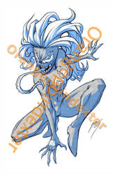 She-Venom random commission by Faltain