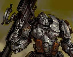 Big gun! by Slimdimanus