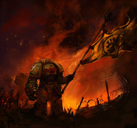 Imperial Fists by Slimdimanus