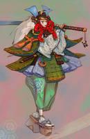 Girlsamurai by Slimdimanus
