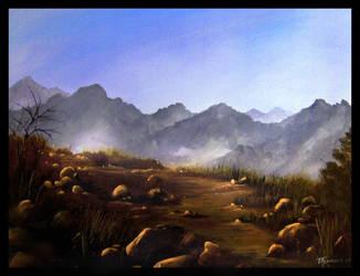 A Rocky Path by artsyone39