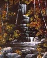 Waterfall by artsyone39