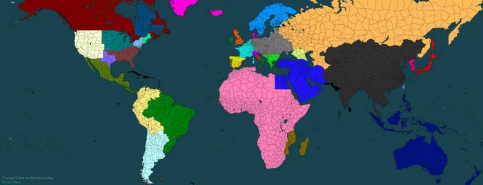 Alternate World Map By Slarvainian On Deviantart
