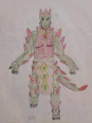 Aztec Dragon by Wolf-Rizer