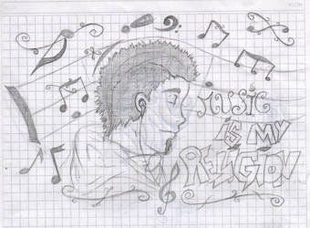 Music Is My Religion by haseoguidos
