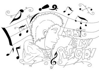 music is my religion Love by haseoguidos