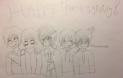 Happy Thanksgiving by Kitsune-Kami-Shin
