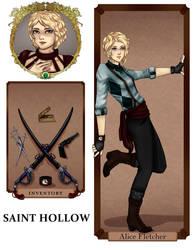 Saint Hallow: Alice by augustablak
