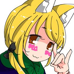 Fox sign chan by sesamecake