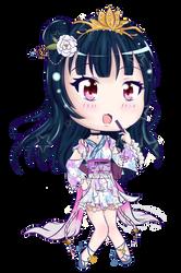 Yukata Yohane Chibi by Ann10158