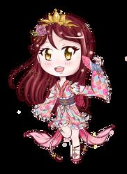 Yukata Riko Chibi by Ann10158